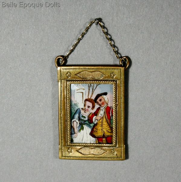 Antique dolls house frame , Puppenstuben zubehor rahme