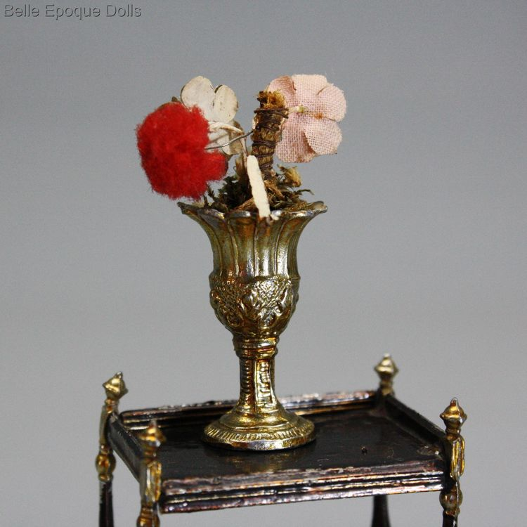Antique Dollhouse miniature vase , Puppenstuben zubehor vase