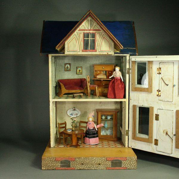 antique dolls houses amp rooms antique gottschalk blue
