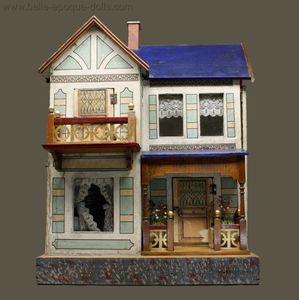 Antique Dollhouses Rooms 1