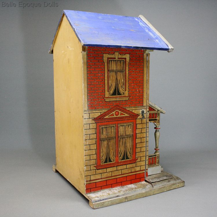 Antique Dollhouse Moritz gottschalk , Antique german dolls house
