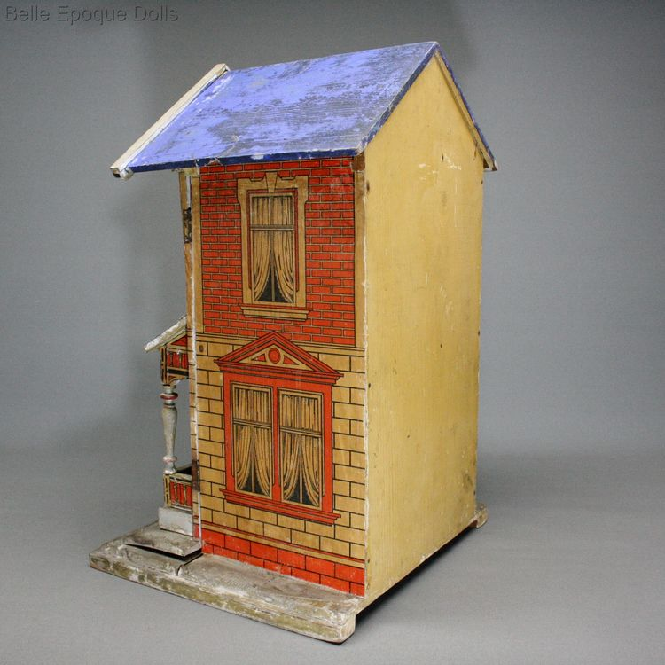 Puppenhauser alte gottschalk , Antique german dolls house