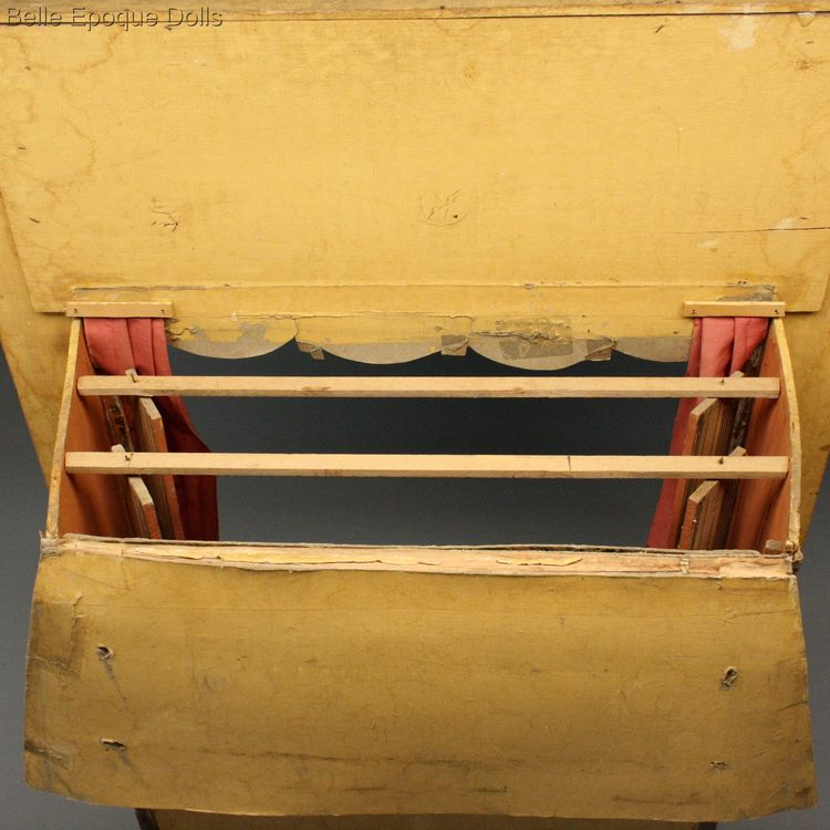 Antique Dollhouse miniature theater , Antique dolls house opera