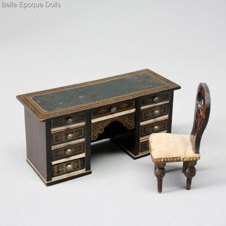 Waltershausen furniture , antique dolls house furniture biedermeier , Waltershausen furniture
