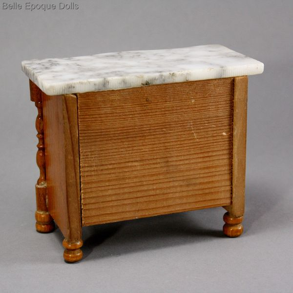 Schneegas doll furniture , miniature chest of drawers