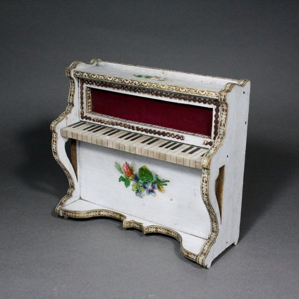 Antique Dollhouse miniature bolant furniture , Puppenstuben zubehor