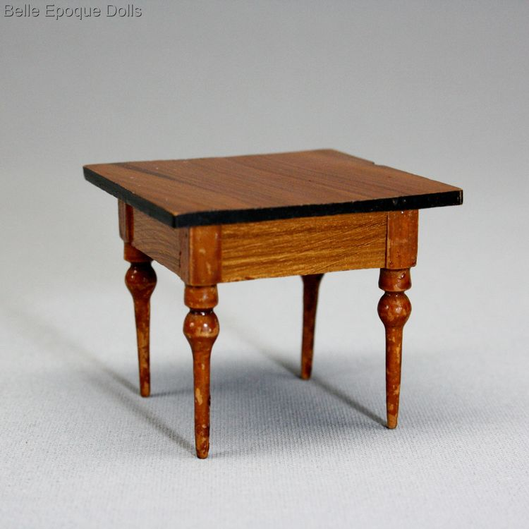 Puppenstuben zubehor , Antique Dollhouse miniature wooden furniture , Puppenstuben zubehor
