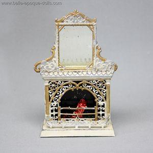 Antique German porcelain miniature doll house Flower pot choice