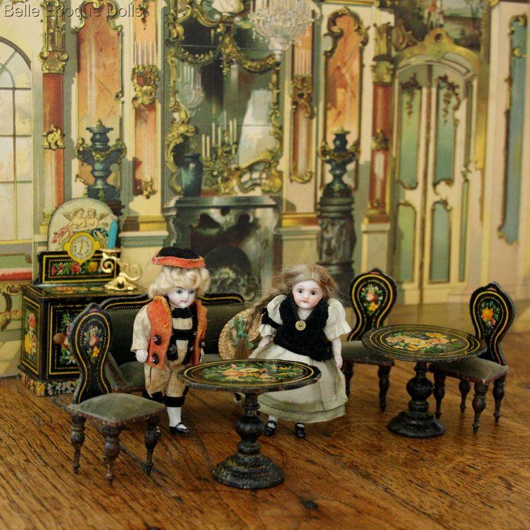Antique Dolls House Furniture