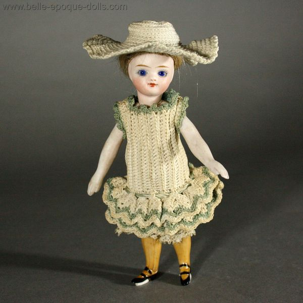 Antique Miniature Dolls Antique All Bisque French