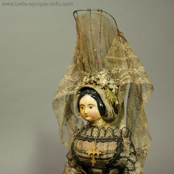 Antique Miniature Dolls / Extraordinary Early Doll known ...