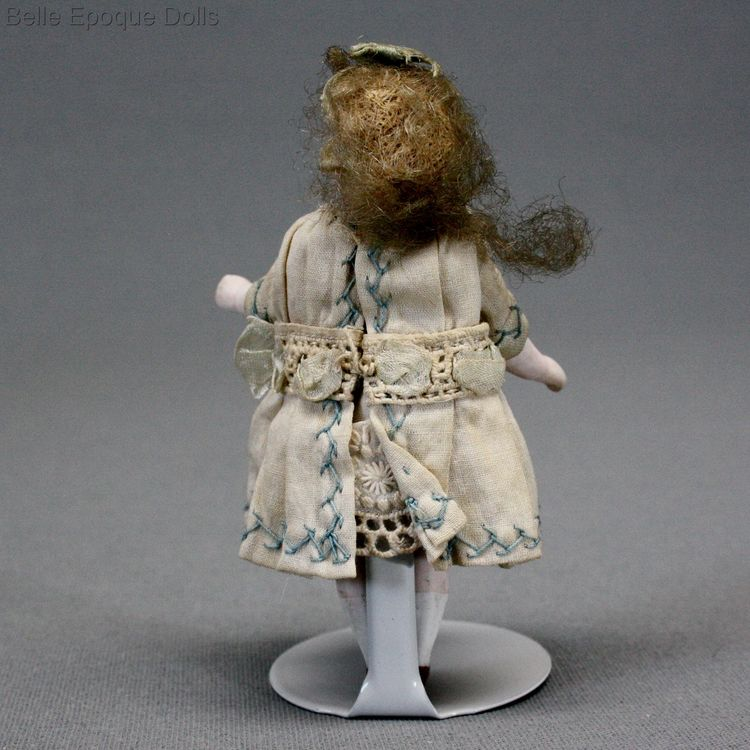 French mignonette francois gaultier , miniature antique doll mignonette